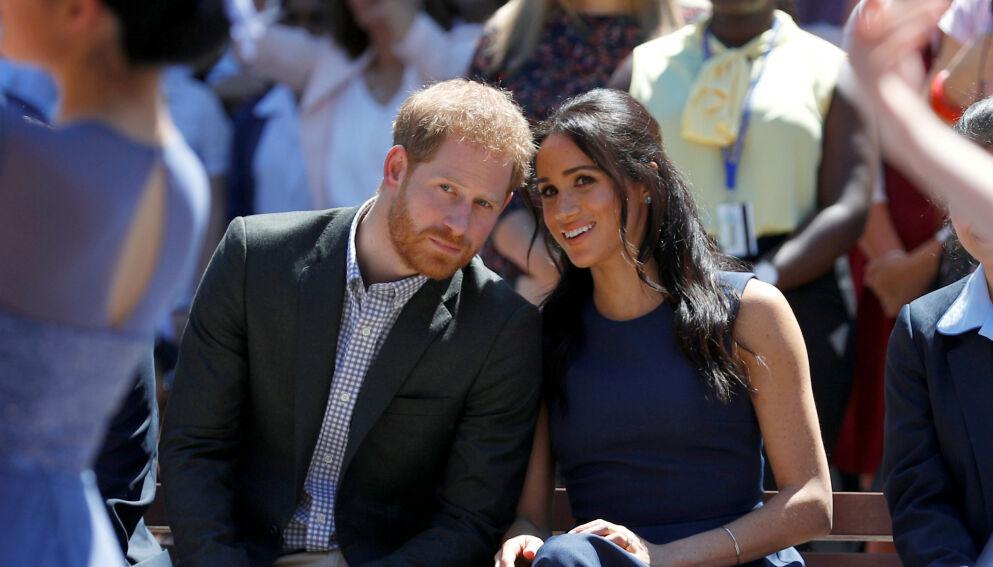 NY SERIE: Prins Harry og hertuginne Meghan skal lage serie med Netflix. Nå forteller prinsen hva den skal handle om. Foto: Reuters / Phil Noble / NTB