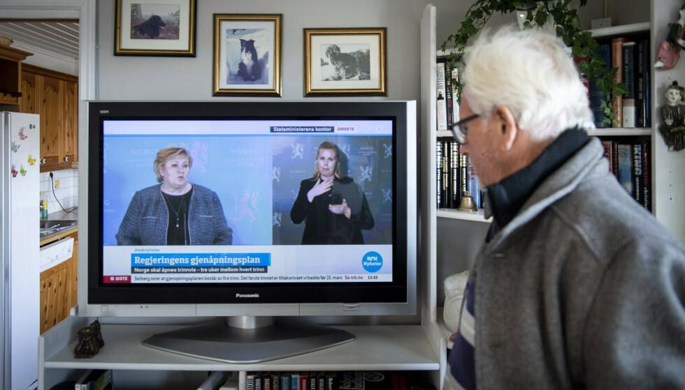 FULGTE ERNA OM GJENÅPNING: Kjell Tore Olsen deler året mellom Langhus i Nordre Follo og Gran Canaria i Spania. Foto: Lars Eivind Bones / Dagbladet.