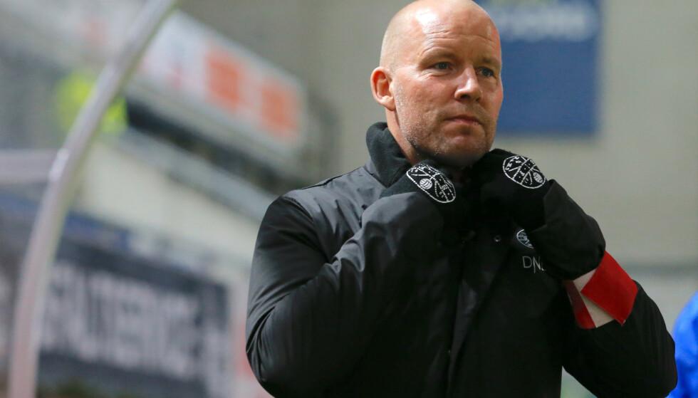 STORM: Henrik Pedersens situasjon i Strømsgodset er fortsatt utsatt. Foto: Svein Ove Ekornesvåg / NTB