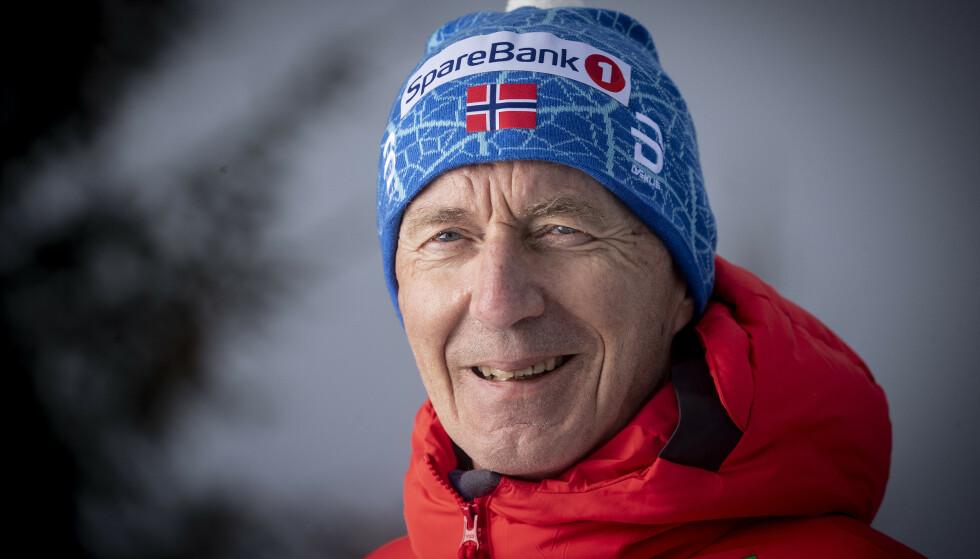 KVINNETRENER: Ole Morten Iversen.