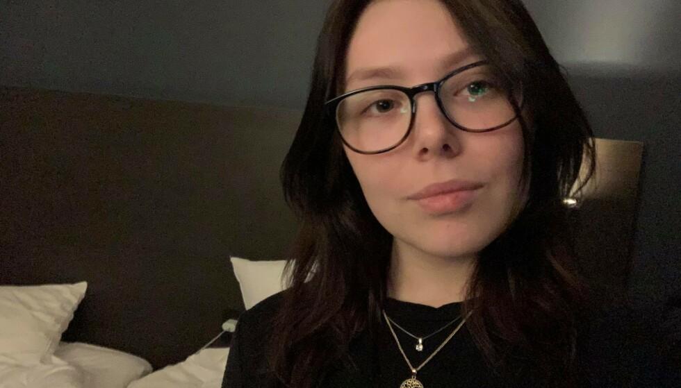 EN KAMP: Leonora Nikolaisen unnslapp ikke karantenehotell, til tross for at hun har vist fram dokumentasjon på at hun har vært sammen med sin syke kjæreste på sykehus i Istanbul. Foto: Privat