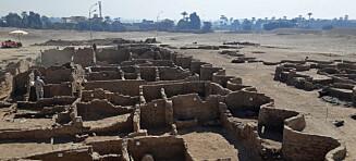 Har oppdaget 3000 år gammel by