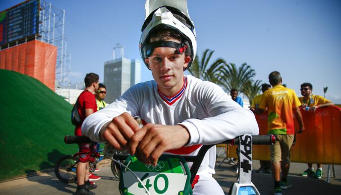 OL-DRØMMEN: Navrestad deltok i OL i Rio 2016, nå ligger han godt an til å få gjentatt drømmen i Tokyo denne sommeren. Foto: Heiko Junge / NTB