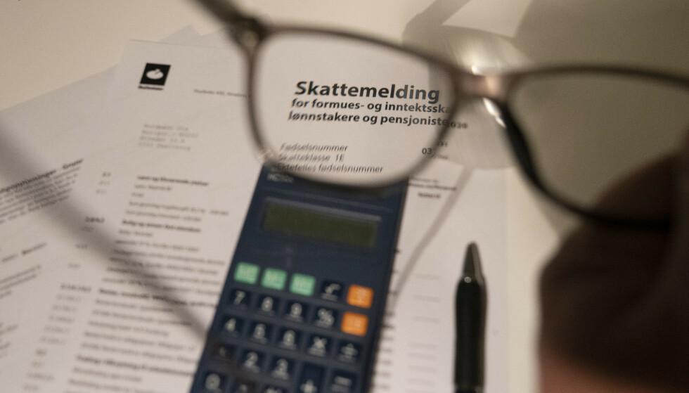 RESTSKATT ELLER SKATT TIL GODE? Ingen har vel lyst til å betale mer skatt enn man må. Foto: NTB scanpix/Terje Pedersen