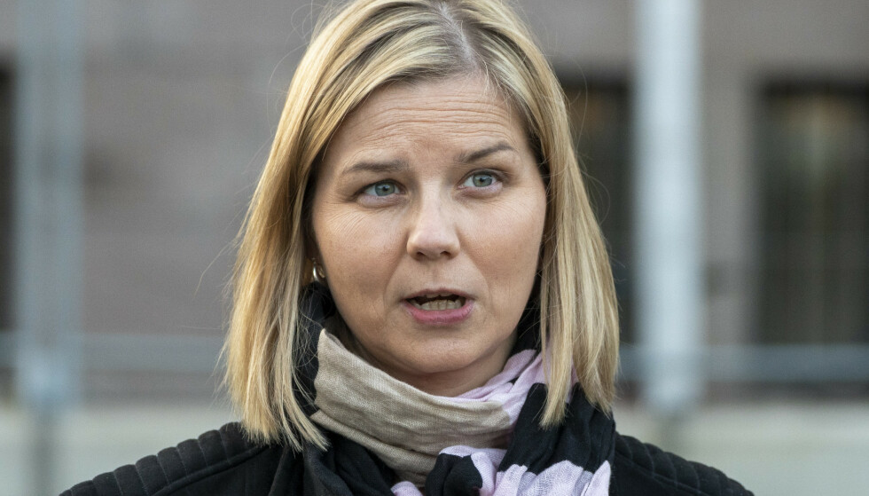 SKROTER FORSLAG: Kunnskapsminister Guri Melby. Foto: Terje Pedersen / NTB