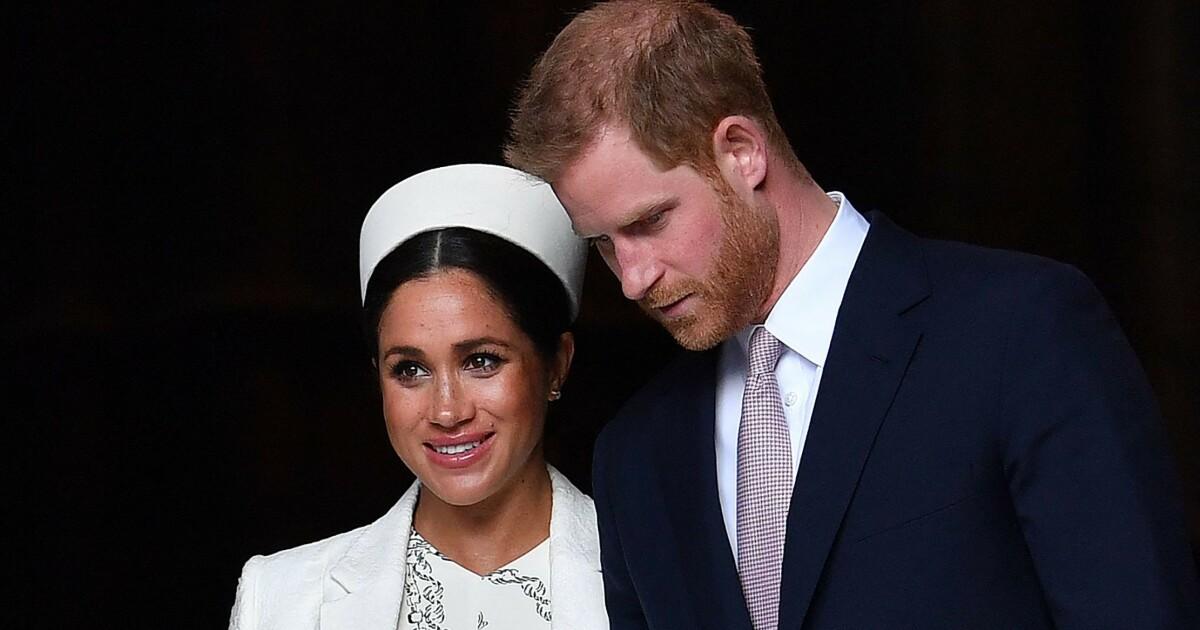 Prins Harry og hertuginne Meghan hyller prins Philip