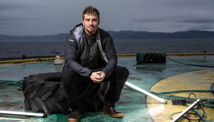 VINNER: Den 26 år gamle fiskeren stakk av med den gjeve seieren, etter å ha imponert stort gjennom hele sesongen. Foto: Michael Schult Ulriksen/NRK