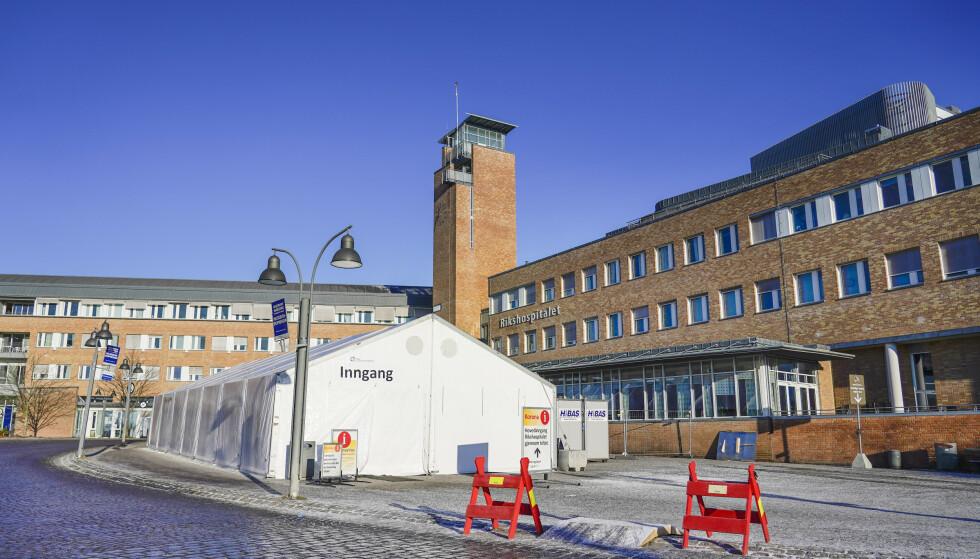 BEHANDLINGSSTED: De aktuelle pasientene har vært innlagt ved Rikshospitalet i Oslo. Foto: Håkon Mosvold Larsen / NTB