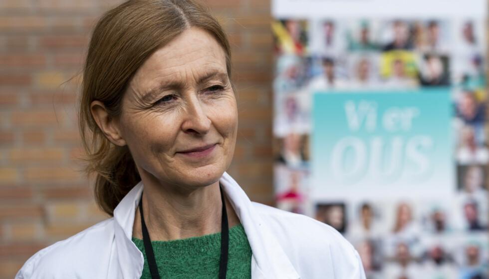 FØRSTEFORFATTER: Overlege Nina Haagenrud Schultz ved Ahus er studiens førsteforfatter. Foto: Terje Pedersen / NTB