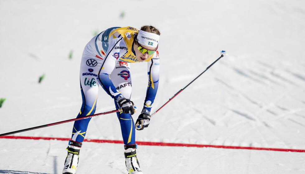 MISTET SMØRER: Ebba Andersson. Foto: Bjørn Langsem / Dagbladet