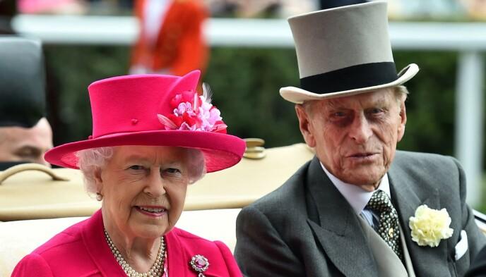 TIL STEDE: Dronning Elizabeth er -selvsagt - én av dem som vil være til stede for å ta et siste farvel med mannen, prins Philip. Foto: Ben Stansall / AFP