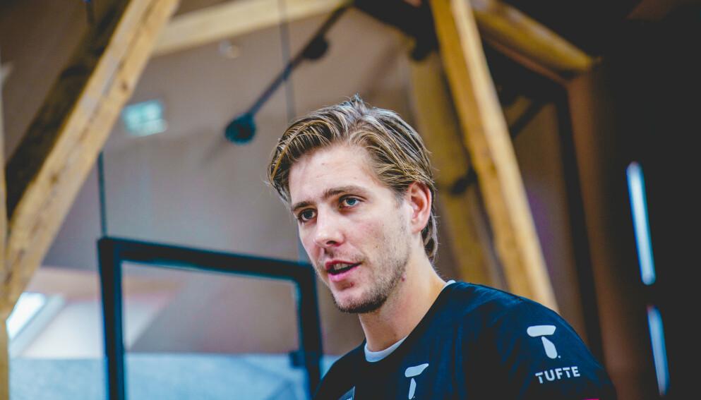TOK ET STEG TILBAKE: Etter et tøft coronaår måtte roer Oscar Stabe Helvig ta et steg tilbake for å finne gleden med idrett igjen. Foto: Stian Lysberg Solum / NTB
