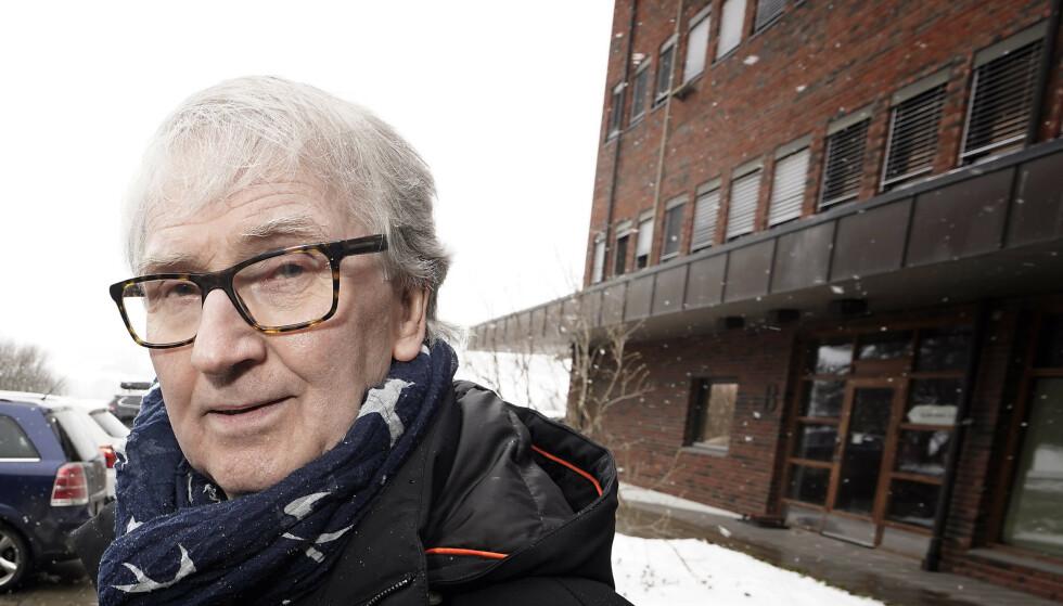 TIPSET: Kommuneoverlege, Are Løken, forteller at de har fått tips fra forbipasserende om hvem som befant seg på arrangementet. Foto: Hans Arne Vedlog / Dagbladet