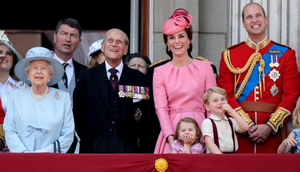 HYLLER BESTEFAR: Prins William er full av lovord om sin avdøde bestefar, prins Philip. Tim Rooke / REX/ NTB