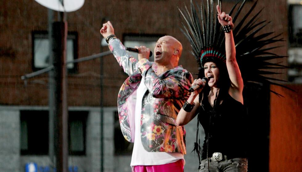 I NORGE: Dette bildet er hentet fra 2009, da Aqua opptrådte på VG-lista i Oslo. Foto: Stian Lysberg Solum / NTB .