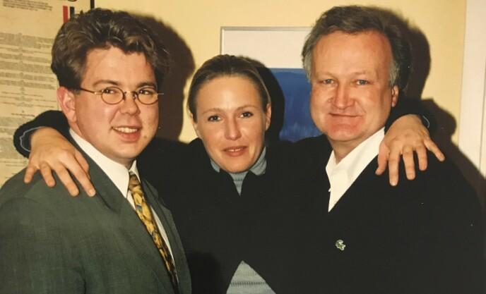 ORDERUD-SAKEN: Kristin Kirkemo med sine to forsvarere, Tor Kjærvik (t.h) og Johnny Veum. Foto: Dagbladet