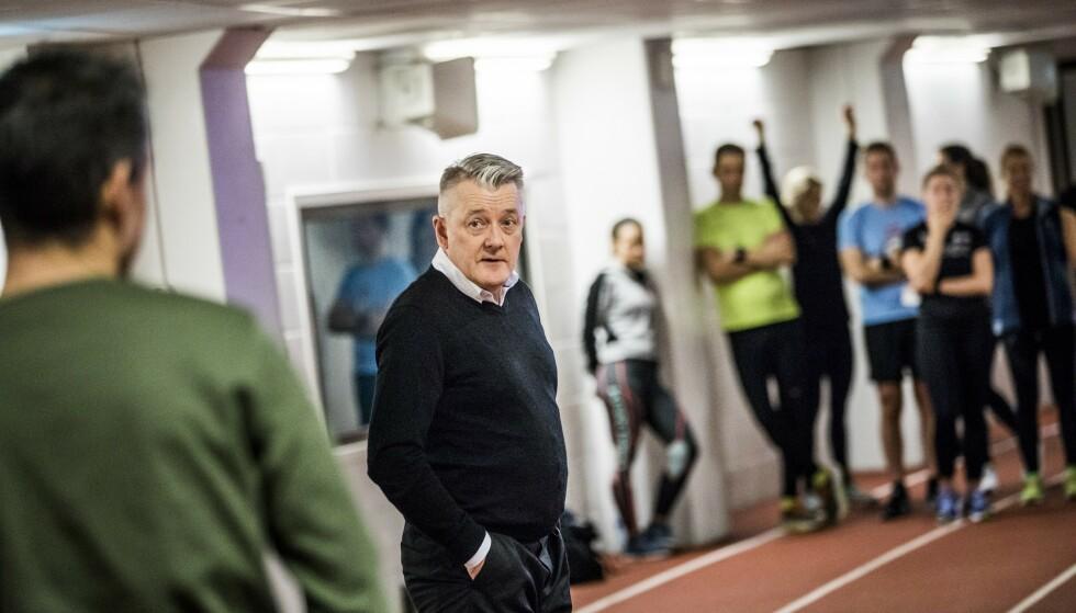 OVERDREVET: Det mener Gjert Ingebrigtsen om «superskoene» som er snakkis i friidrettsmiljøet. Foto: Christian Roth Christensen / Dagbladet