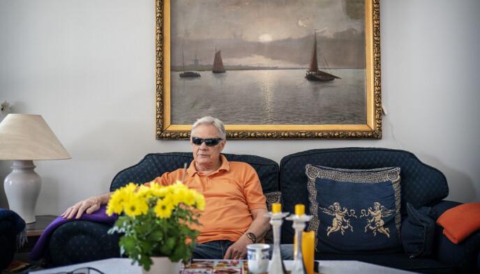 I SORG: Trond Mæland møter Dagbladet dagen etter drapet på kompisen. Foto: Hans Arne Vedlog / Dagbladet