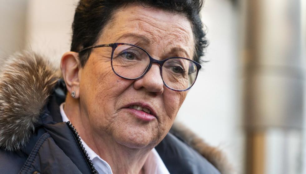- SJOKKERT: Bistandsadvokat Ellen Holager Andenæs sier at samboeren til avdøde Kjærvik er sjokkert. Foto: Terje Pedersen / NTB