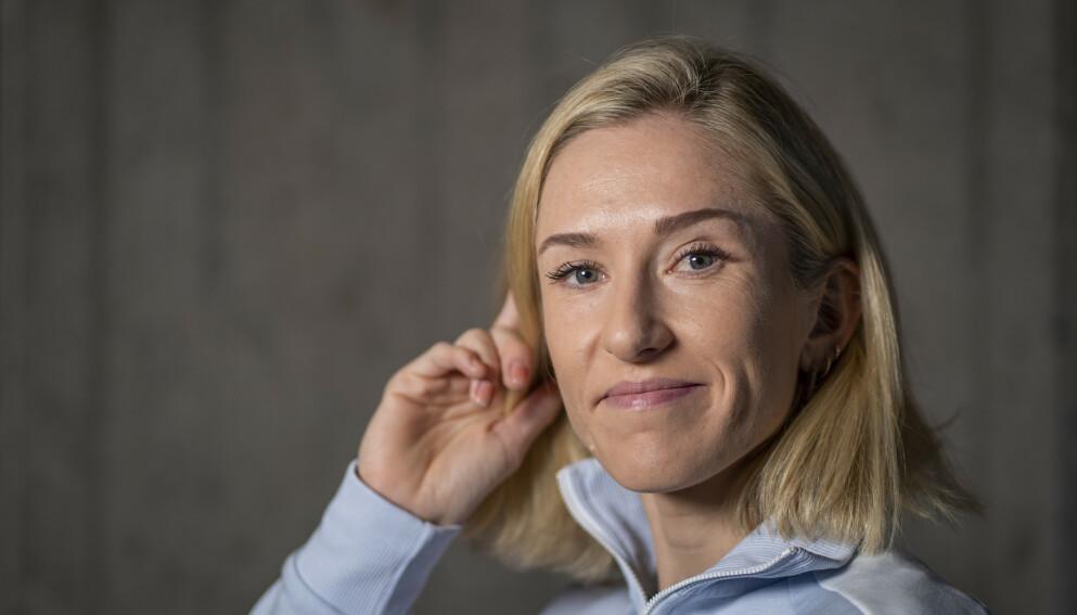 I BALANSE: Karoline Bjerkeli Grøvdal forteller at hun har funnet en balanse på hvor mye løpetrening hun tåler. Foto: Heiko Junge / NTB
