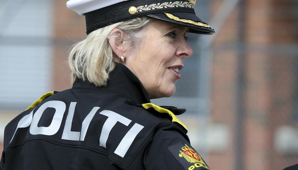 SYSTEMATISK? Politidirektør Benedicte Bjørnland sier hun er glad for at Riksadvokaten har satt i gang et arbeid for å undersøke om politiet har begått maktovergrep. Foto: Vidar Ruud / NTB