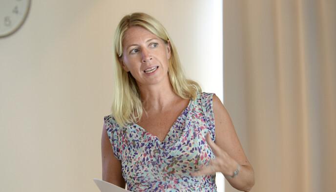 KRITISK: Generalsekretær Mina Gerhardsen i Nasjonalforeningen for folkehelsen. Foto: Vidar Ruud / NTB