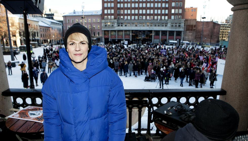 STØTTER REFORM: Komiker Sigrid Bonde Tusvik. Foto: Anders Grønneberg / Dagbladet