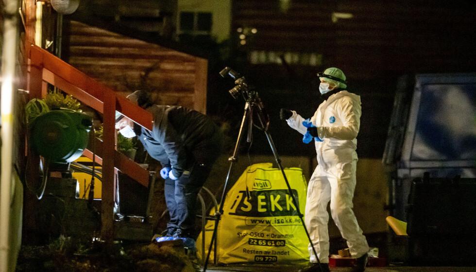 DREPT: Tor Kjærvik ble drept på Røa mandag kveld. Sønnen er siktet for drap. Foto: Bjørn Langsem / Dagbladet