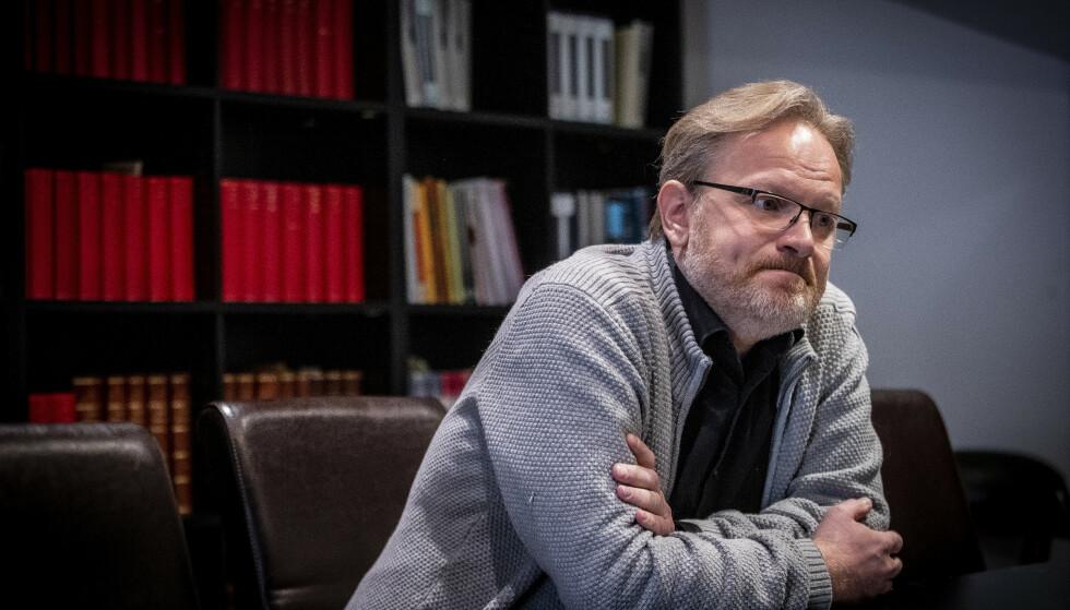 KLIENTENES MANN: - Ingen sak var stor eller for liten, for Tor Kjærvik, sier René Ibsen.Foto: Bjørn Langsem / Dagbladet