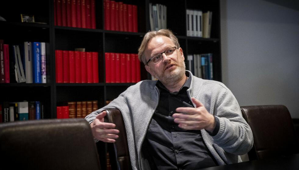 GLAD I MENNESKER: René Ibsen beskriver Tor Kjærvik som engasjert og en som var interesert og brydde seg om mennesker. Foto: Bjørn Langsem / Dagbladet