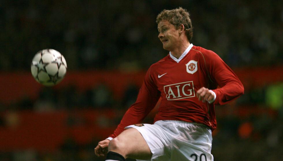 IMPONERTE: Manchester United og Ole Gunnar Solskjær, her fra oppgjøret i 2007. Foto: NTB