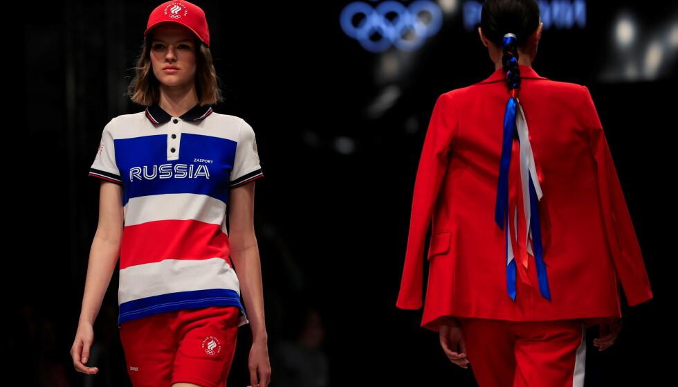 RUSSLAND PRYDER: Det virker ikke som det er like strengt under OL som det var under skiskytter-VM. Foto: REUTERS/Evgenia Novozhenina