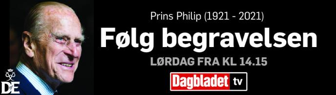 LØRDAG: Dagbladet har livesending fra prinsens begravelse fra lørdag kl. 14.15.
