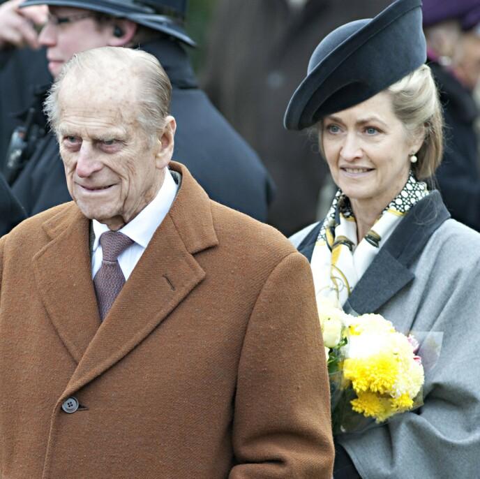 2012: Prins Philip og grevinna har stått hverandre nær i nesten femti år. Foto: Shutterstock / REX / NTB