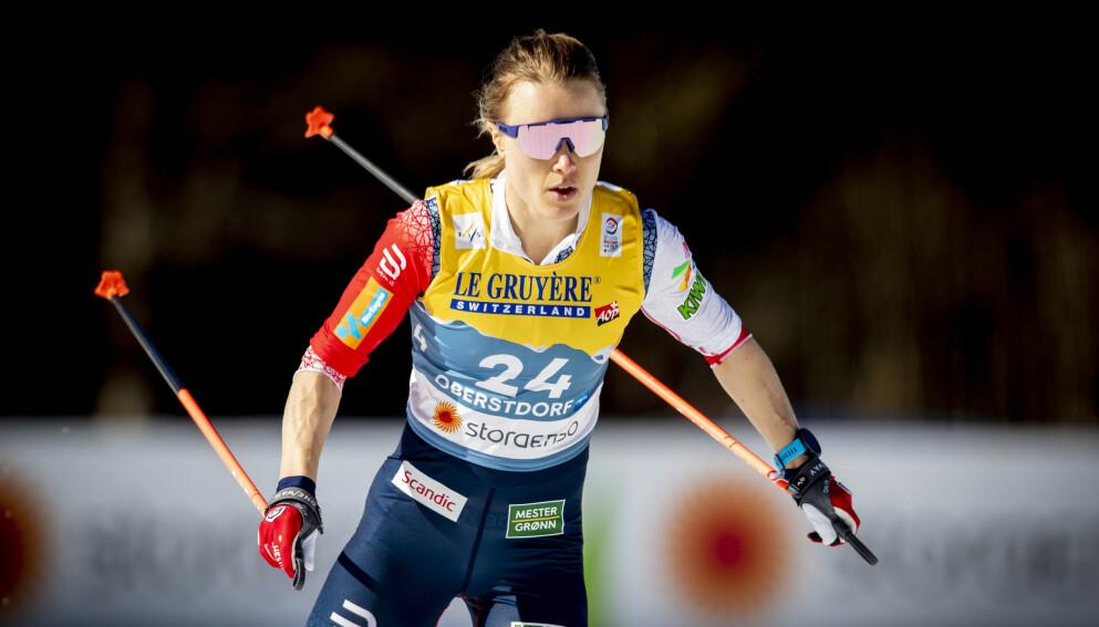 VM: Ragnhold Haga under 10-kilomter fristil under VM i Oberstdorf. Foto: Bjørn Langsem / Dagbladet