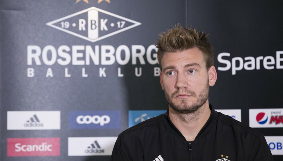 TILTALT: Nicklas Bendtner står tiltalt for en rekke lovbrudd. Foto: Terje Pedersen / NTB
