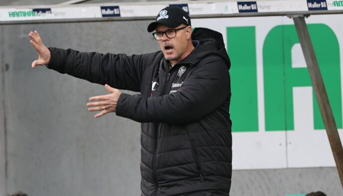 BRISKEBY-SJEF: HamKam-trener Kjetil Rekdal. Foto: Geir Olsen / NTB