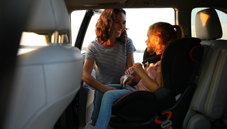 DE BESTE: De siste årene er sikkerheten til barna i bilen blitt betydelig bedre. Kollisjonstestene til EuroNcap har avslørt de svake bilene, noe som har tvunget produsentene til å bygge sikrere biler. Illustrasjonsfoto: Shutterstock / NTB scanpix