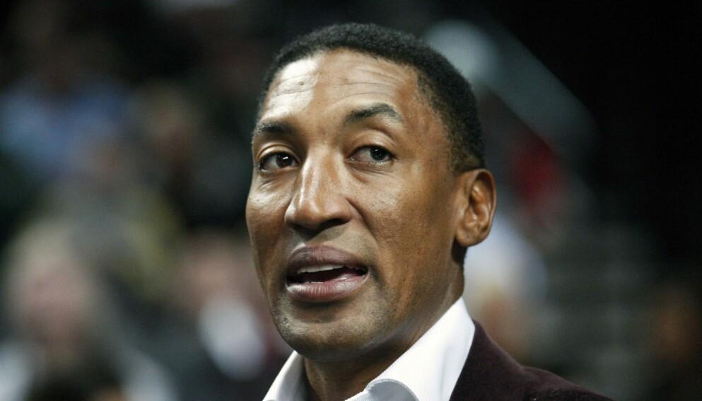 I SORG: Basketstjerne Scottie Pippen mistet sønnen. Foto: Rick Bowmer/AP/NTB