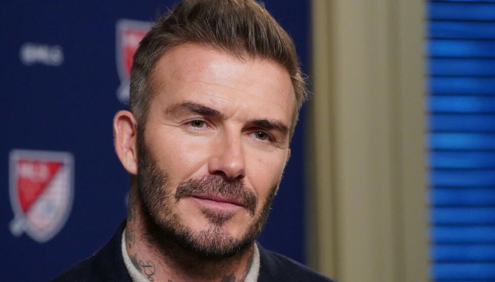 KLUBBEIER: David Beckham. Foto: NTB