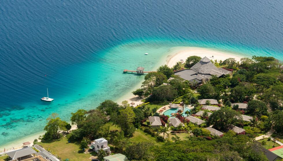 NESTEN CORONAFRITT: Øystaten Vanuatu i Stillehavet har så å si vært coronafritt gjennom pandemien, og hadde fram til april bare registrert tre smittetilfeller. Landets fjerde tilfelle ble nylig påvist etter at en død person ble funnet på Vanuatu Beach. Foto: rob_travel / Shutterstock / NTB