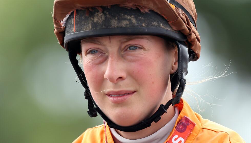 TRAGISK FALL: Lorna Brooke hadde et stygt fall på ridebanen. Hun døde etterfølgende av skadene på sykehuset. Foto: NTB Scanpix.