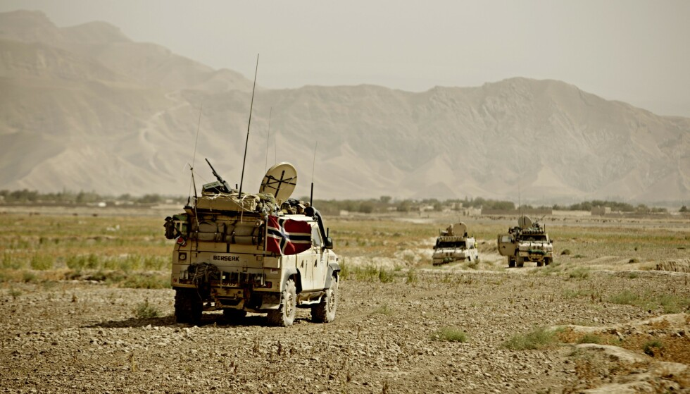 AFGHANISTAN: Norge har spesialstyrker, sanitetspersonell og stabsoffiserer i Afghanistan. Norges militære nærvær i landet avsluttes i løpet av 2021, og alle norske soldater trekkes ut. Foto: Stian Lysberg Solum / Forsvaret / NTB