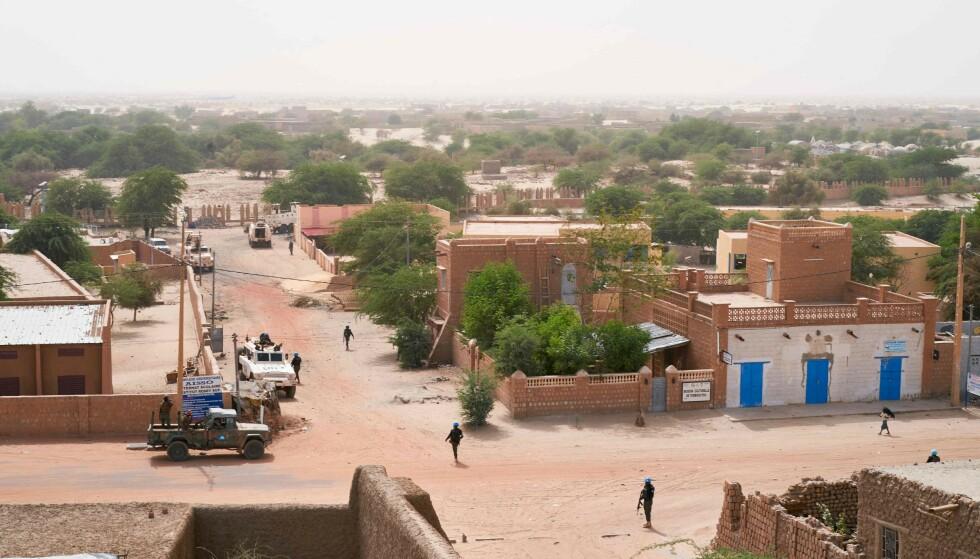 MALI: Norge har siden 2013 støttet myndighetene i den Vest-Afrikanske innlandsstaten Mali gjennom FN-operasjonen MINUSMA. Fram til mai 2021 bidrar Norge med et transportfly, besetning og øvrig støttepersonell. Foto: Michele Cattani / AFP / NTB