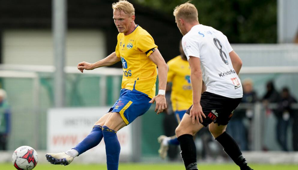 VIL UT: Martin Høyland ønsker å forsøke seg i Eliteserien. Foto: Fredrik Hagen / NTB