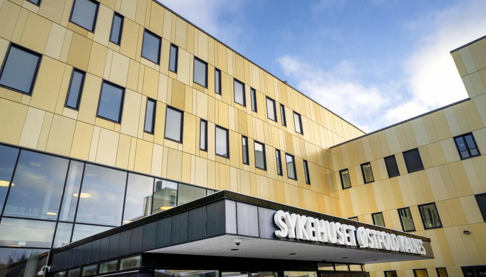 DØDE: Ekteparet døde etter å ha vært innlagt på Sykehuset Østfold Kalnes. Foto: Gorm Kallestad / NTB