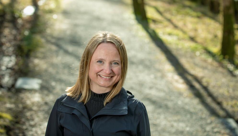 FORNØYD: Cathrine Haugland fikk MS i 2013. I dag er hun ikke lenger redd for nye attakk. Foto: Eivind Senneset/ Dagbladet