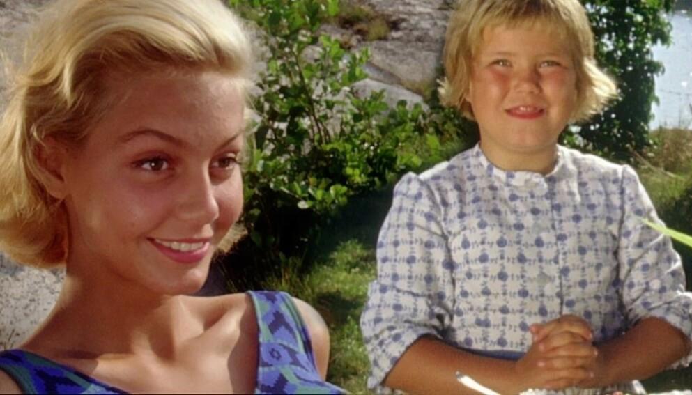 KLASSIKER: De fleste husker nok Tjorven fra «Livet på Saltkråkan», spilt av Maria Johansson (til høyre). Foto: SVT.