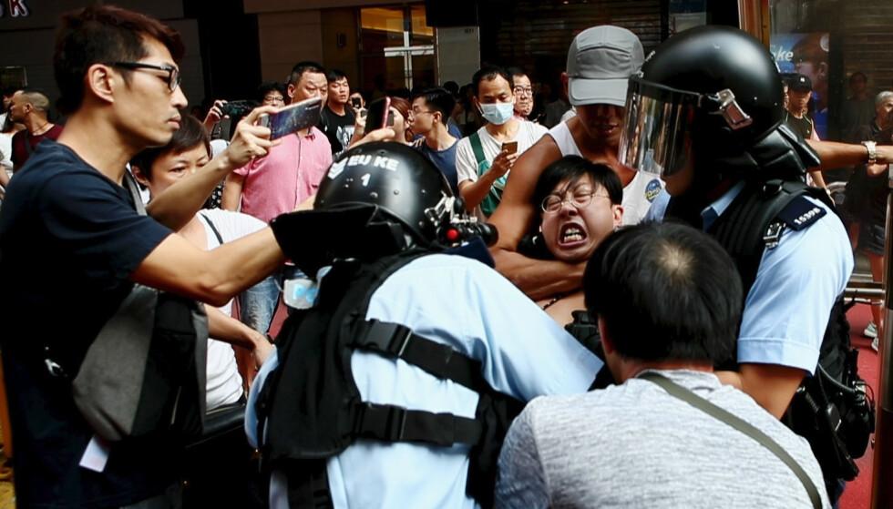 HARDE KAMPER: Over 10 000 ble arrestert, flere tusen skadd og to døde i løpet av Hongkong-protestene. Foto: Anders Hammer