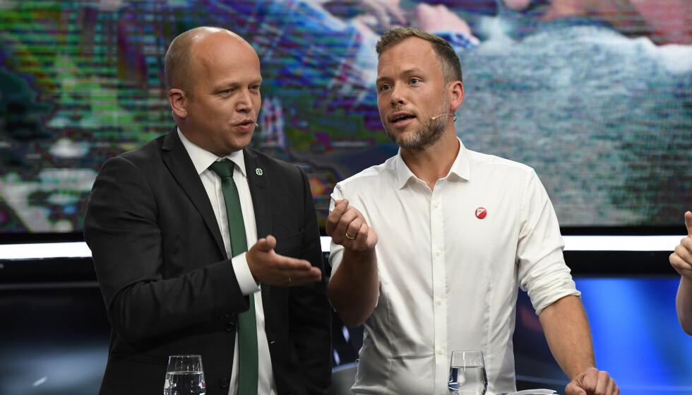 EØS-AVTALEN: På tross av det stadig mer åpenbare, skal likevel Rødt, SV og Senterpartiet atter en gang fortelle oss at denne valgkampen handler om EØS-avtalen. Det gjør den selvfølgelig ikke. Heller ikke denne gangen Foto: Marit Hommedal / NTB